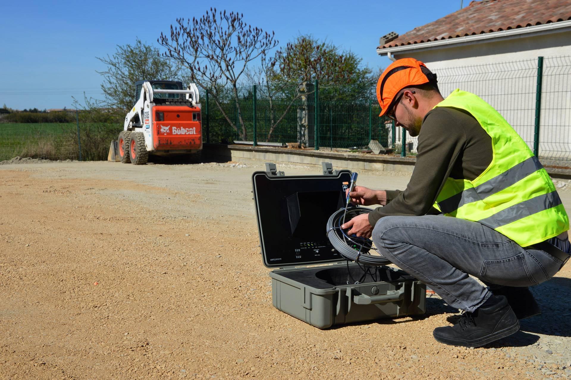 Toutes nos cam ras d 39 inspection la location agm tec - Location camera canalisation ...