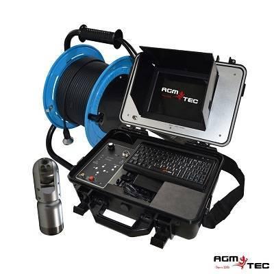camera inspection télévisée – pour une inspection verticale.