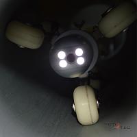 Robot pour voir dans les canalisations