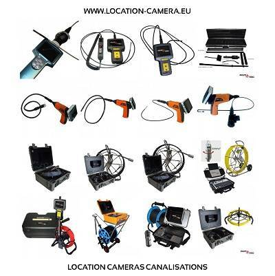 location camera canalisation