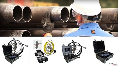 Vous cherchez à faire un passage caméra assainissement | camera d'inspection AGM TEC