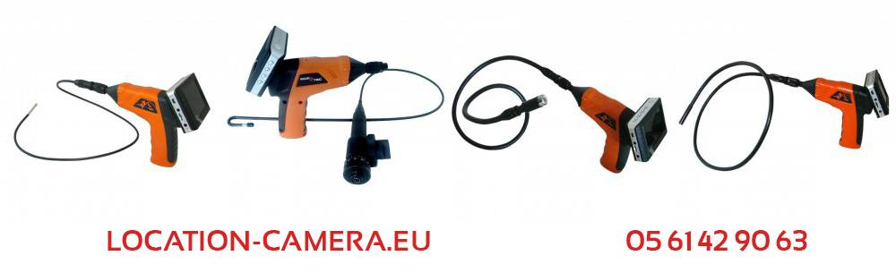 Location camera pour canalisation