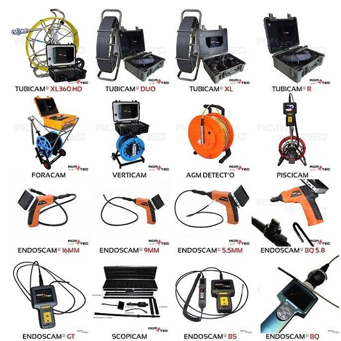 Camera canalisation location, quelle caméra d'inspection de canalisations choisir ? AGM TEC