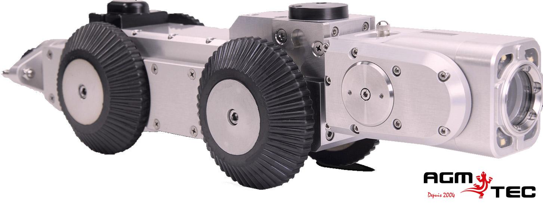 Caméra motorisée pour inspections de canalisations-AGM TEC