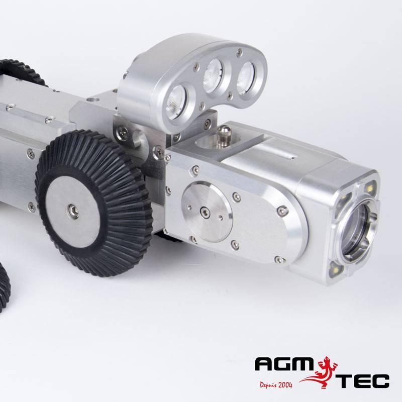 Robots chariots motorisés caméras inspection canalisation location