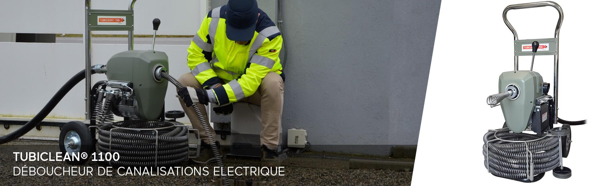 Investir dans un déboucheur de canalisation électrique chez AGM TEC